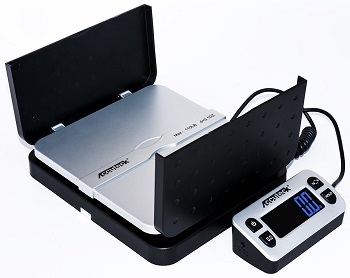 Digital Shipping Postal Scale, Black (W-8580-110-Black)