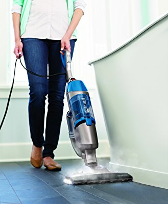 Bissell Symphony Pet Steam Mop Best for Hardwood and Tile Floors