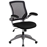 Buy Flash Furniture Mid-Back Black Mesh Swivel Task Chair