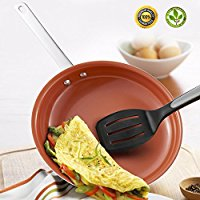 Hommate 9 Inch Non Stick Frying Pan Nonstick Frying Pan,Omelette Pan,Small Frying Pan,Egg Pan