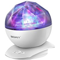 Buy SOAIY Rotation Sleep Soothing Color Changing Aurora