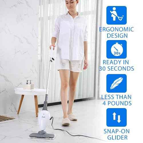 LIGHT 'N' EASY Steam Mop - Steam Cleaner Steam Mops