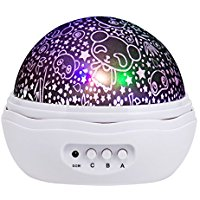 Buy XIAZUO Star Projector,Bedroom Night Light for Baby