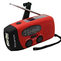 Buy Best iRonsnow Solar Emergency NOAA Weather Radio Dynamo Hand Crank