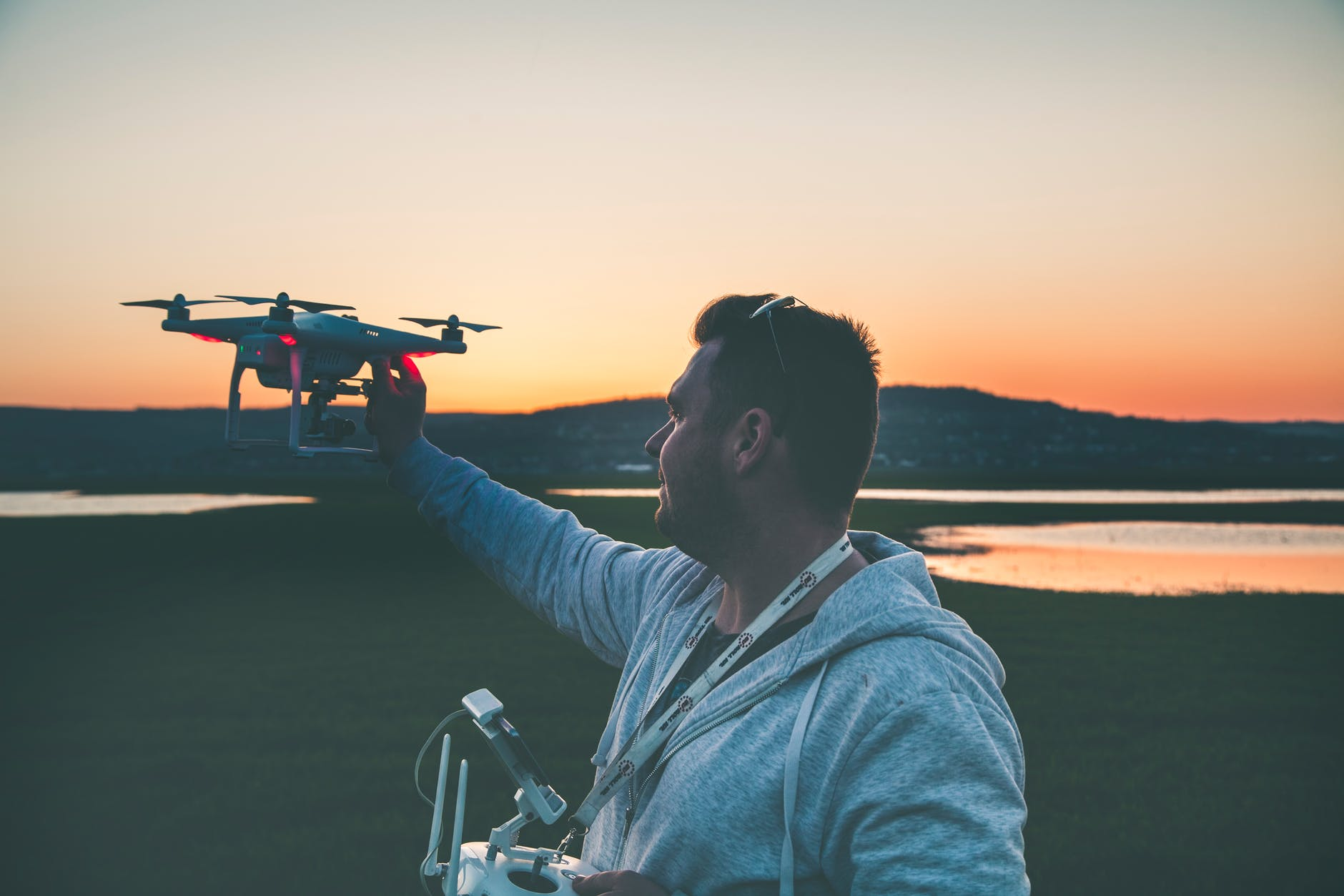 Choosing the right person to control the drone