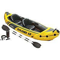 Best Intex Explorer K2 Kayak, 2-Person Inflatable Kayak of 2018