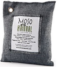Buy Best Moso Natural Air Purifying Bag. Odor Eliminator for Cars