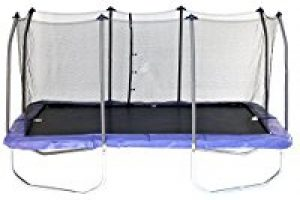 Buy Skywalker Rectangle Trampoline with Enclosure, 15-Feet