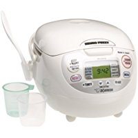 Top Best Zojirushi NS-ZCC10 5-1/2-Cup (Uncooked) Neuro Fuzzy Rice Cooker