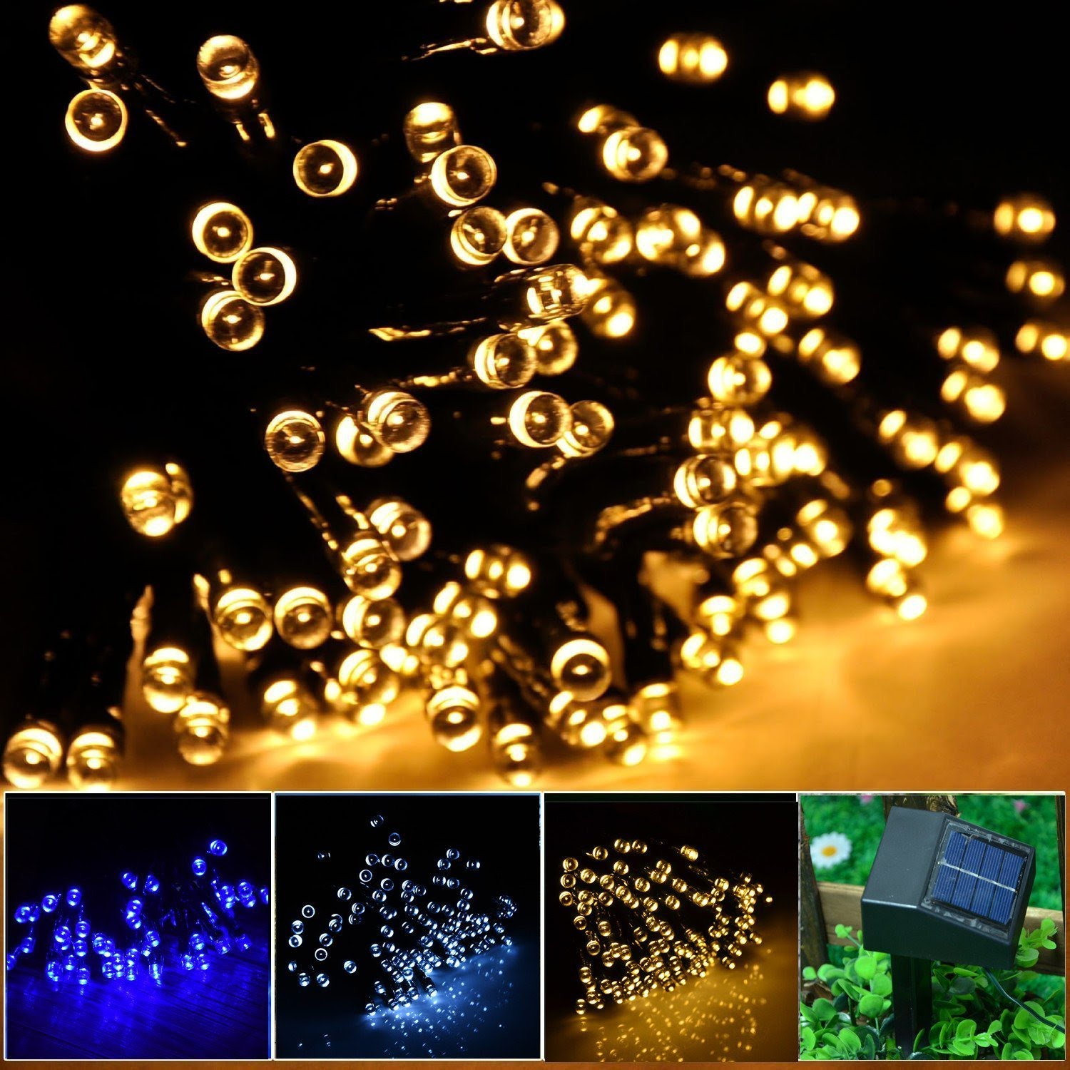 sc 1 st  B4bestreviews & Best Christmas solar string lights Reviews 2018 \u2013 B4bestreviews