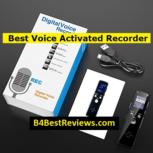 best voice activated recorder