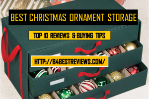 Best Christmas Ornament Storage Containers & Boxes