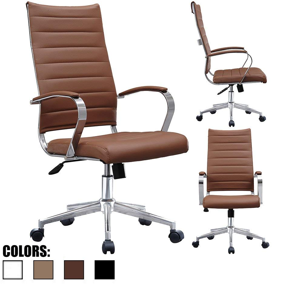 2xhome Brown Office Chair