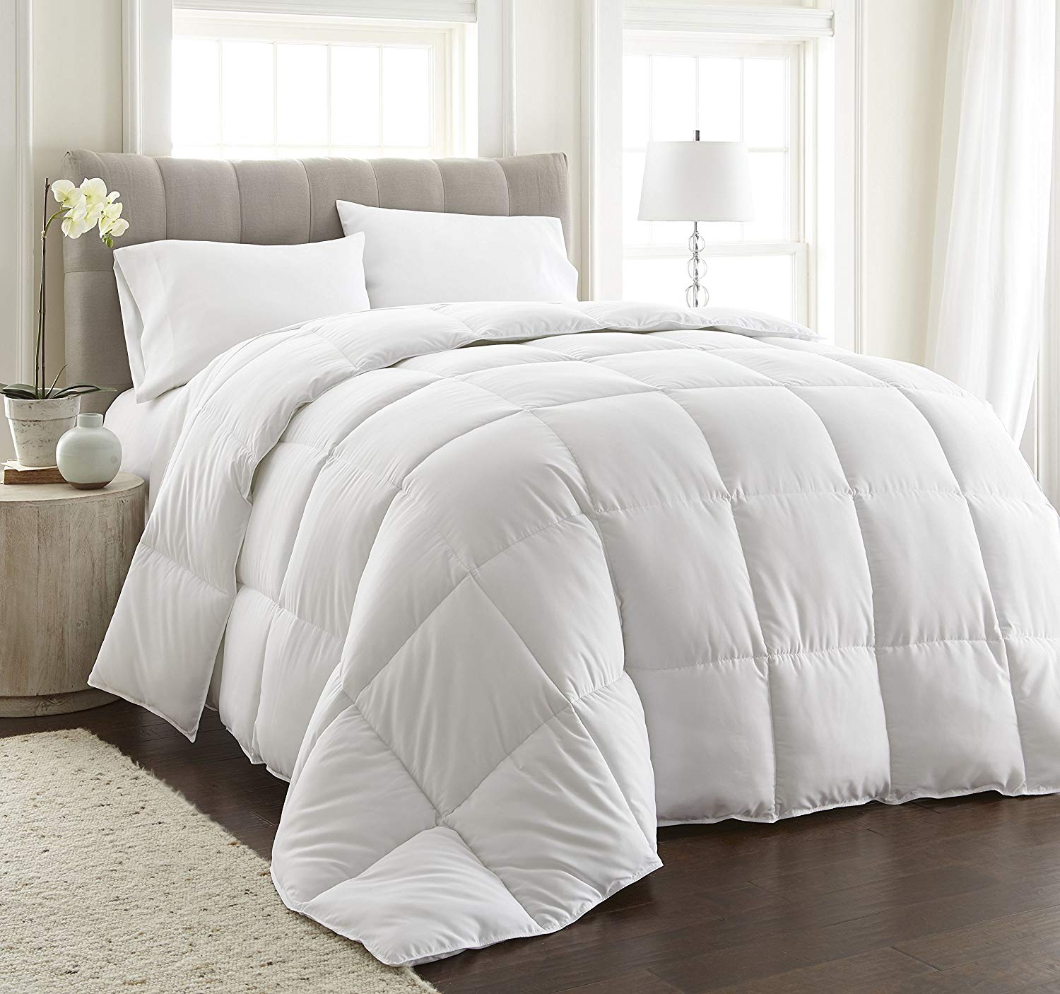 Buy Chezmoi Collection King Goose Down Alternative Comforter