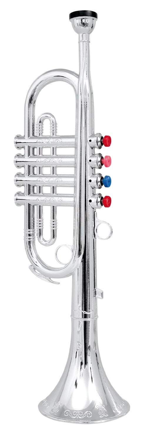 Click N play Metallic Silver Trumpet