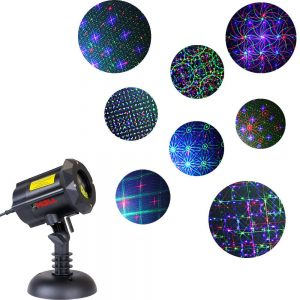 Buy MOTION 8 PATTERNS IN 1 LEDMALL LASER
