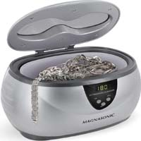 Magnasonic Professional Ultrasonic Jewelry Cleaner with Digital Timer for Eyeglasses, Rings