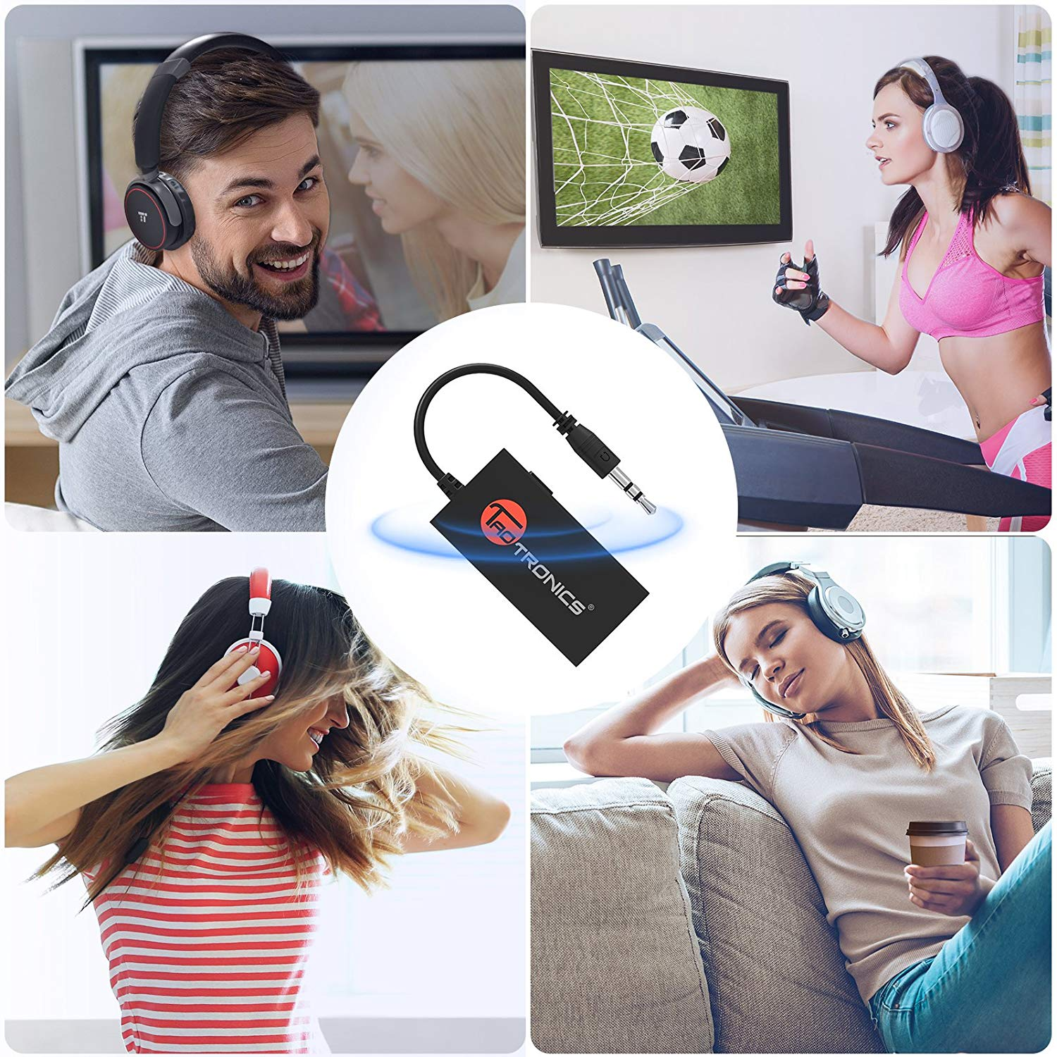 Buy TaoTronics Wireless Portable Bluetooth Transmitter