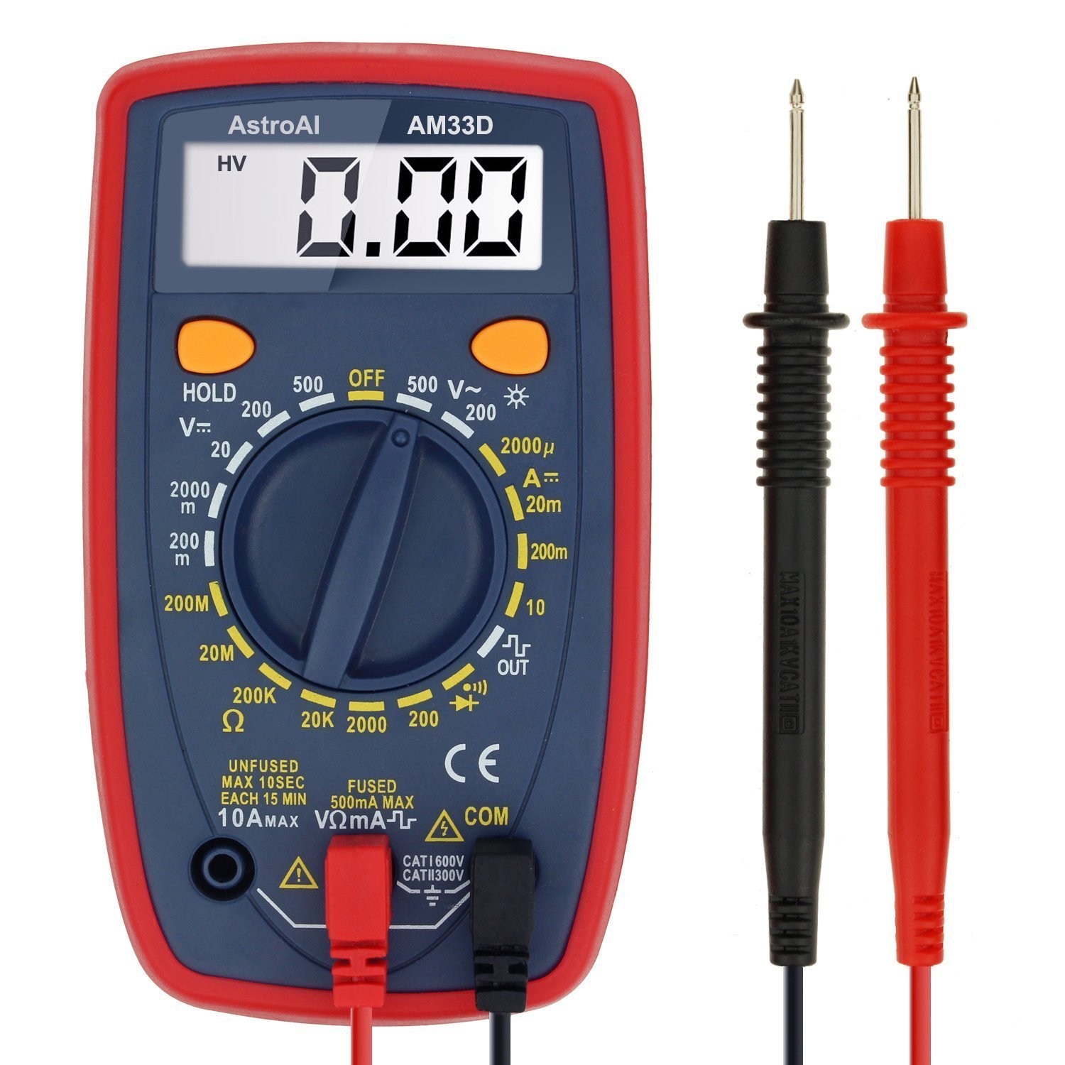 AstroAI Digital Multimeter