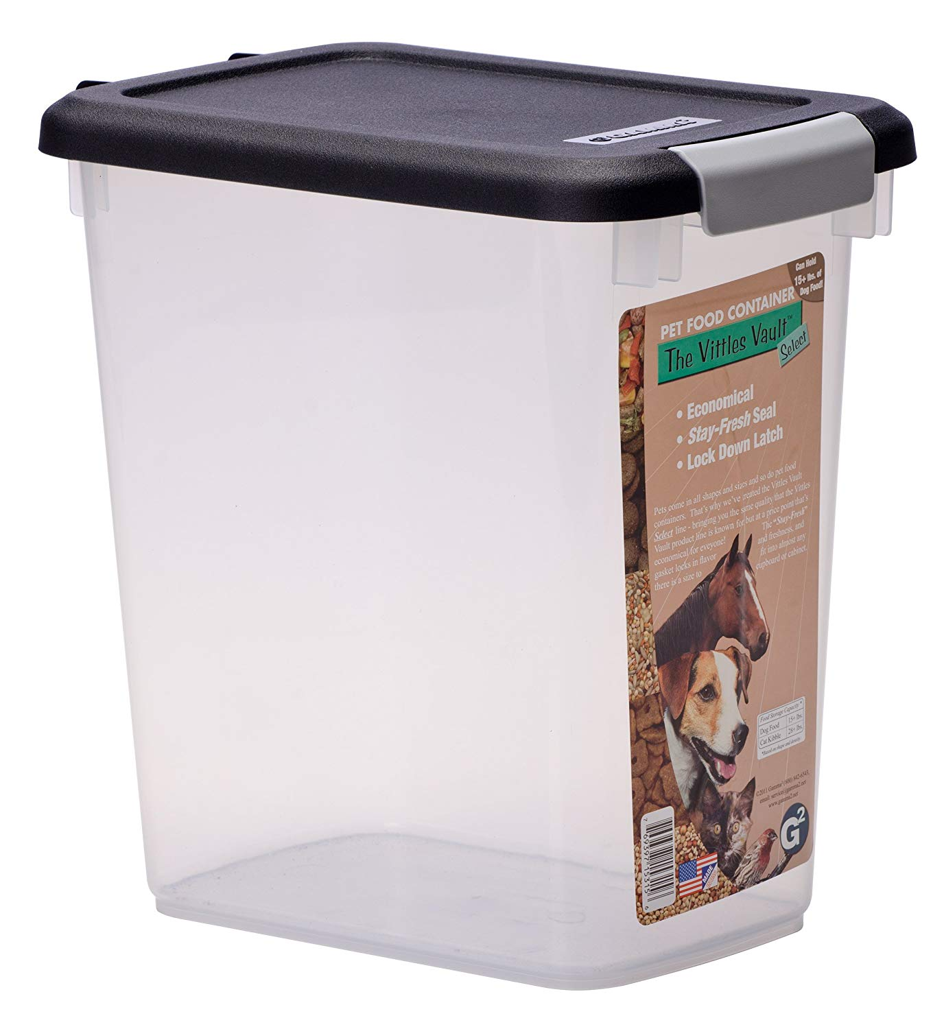 Buy GAMMA2 Vittles Vault Airtight Pet Food Container