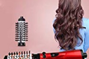 Hair Hot Air Brush Multi Function Electric Dryer Brush Straightener