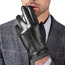 Men's Italian Nappa Leather Gloves