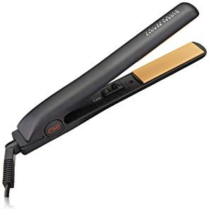 "CHI Original 1"" Flat Hair Straightening Ceramic Hairstyling Iron 1 Inch Plates, 1 Count"