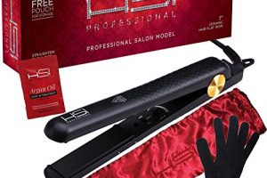 Top Best HSI Professional Ceramic Tourmaline Ionic Flat Iron hair