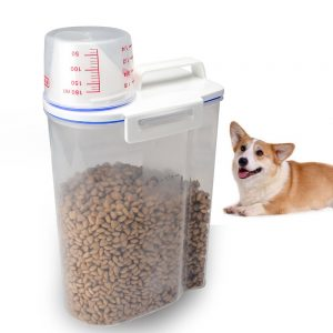 TIOVERY Pet Food Plastic Storage Container