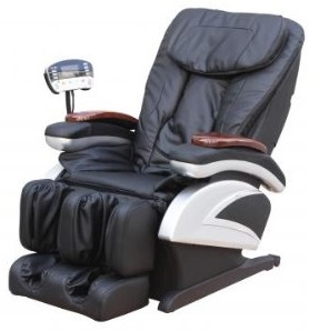 Top Best Electric Full Body Shiatsu Massage Chair Recliner Stretched Foot Rest 06