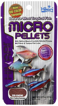 Hikari Tropical Semi-Floating Micro Pellets for Pets